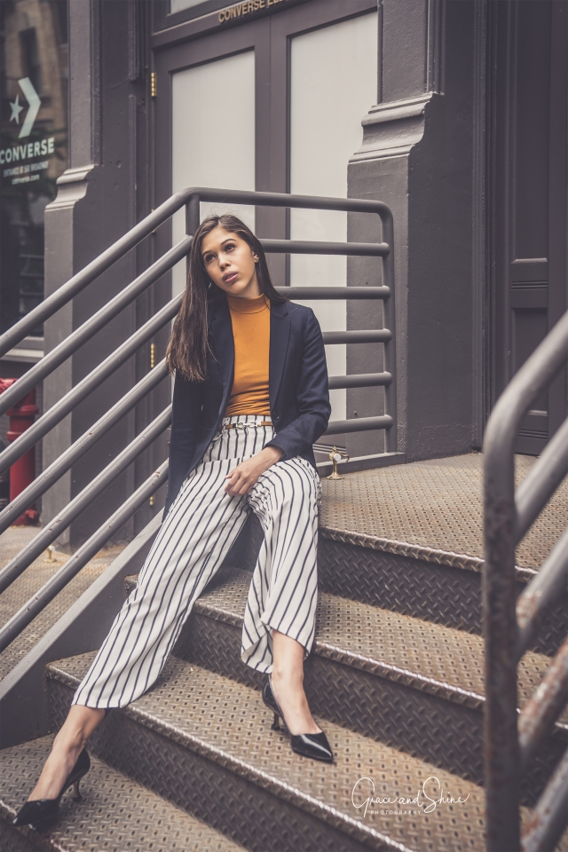 New York Work Fashion H&M Blazer by Grace and Shine Photography