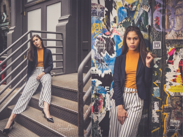Work Fashion H&M Blazer by Grace and Shine Photography