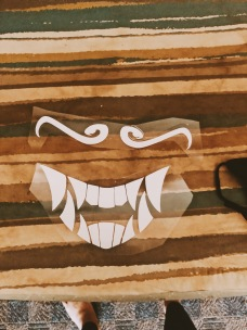 KDA Akali Mask Cricut
