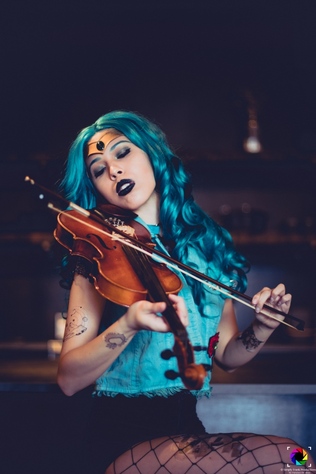 Punk Sailor Neptune Cosplay
